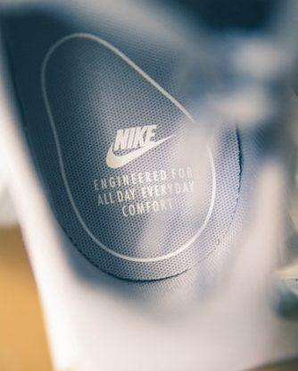 Logo de Nike sur un produit