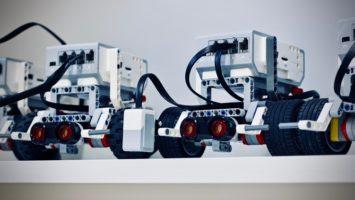 Robots alignés