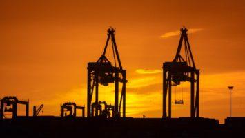 Champ pétrolier à Malaga en Espagne
