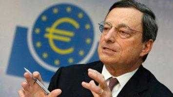 Mario Draghi, président de la banque centrale européenne (BCE)
