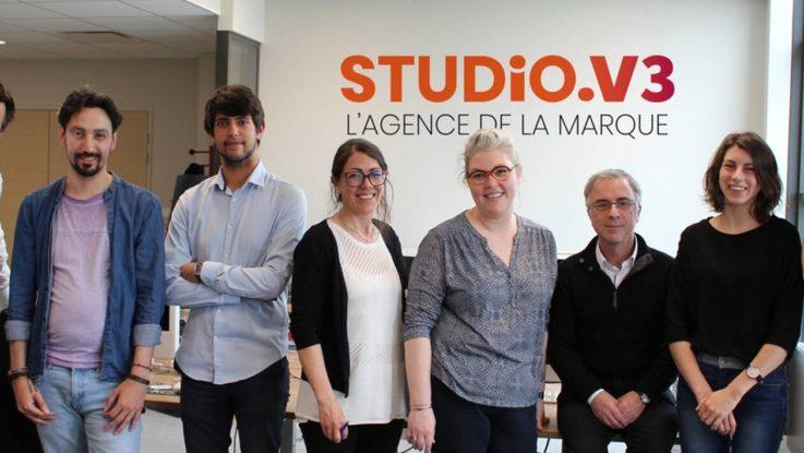 L'équie du Studio V3 dans ses nouveaux locaux
