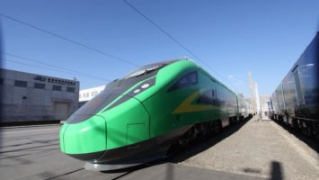 Un TGV de CRRC en circulation en Chine