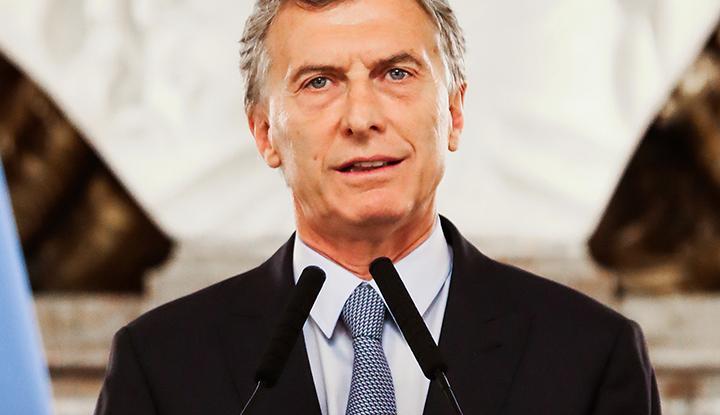 Mauricio Macri, président de la République d'Argentine