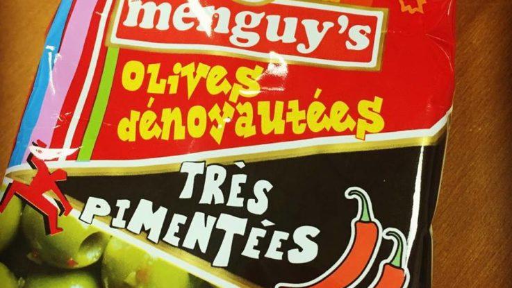 Menguy's olives dénoyautés très piementées