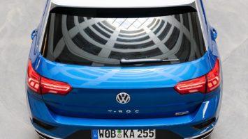 Une Volkswagen T-Roc