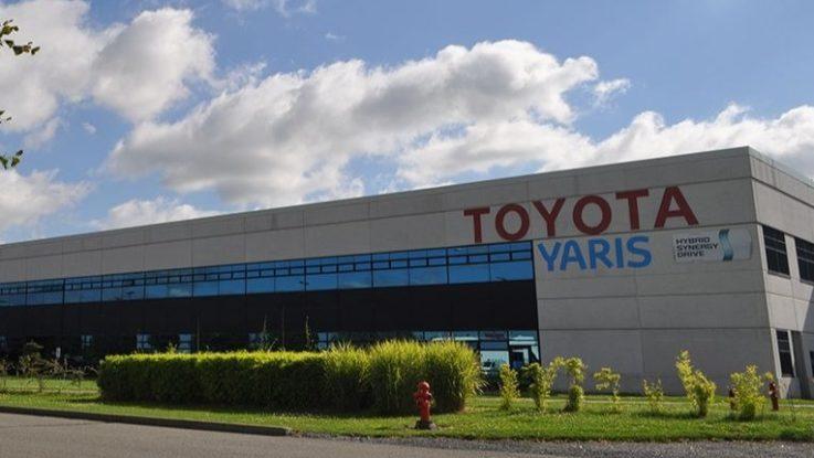L'usine Toyota d'Onnaing, près de Valenciennes.