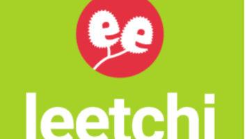 Logo de Leetchi, le site internet de création de cagnottes en ligne.