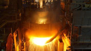 Une forge de l'aciérie Ascoval (Photo : Ascoval)