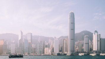 Des buldings à Hong Kong.
