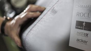 Le groupe textile Chamatex a symboliquement posé la première pierre d'une nouvelle usine à Ardoix (Ardèche), le jeudi 17 septembre.