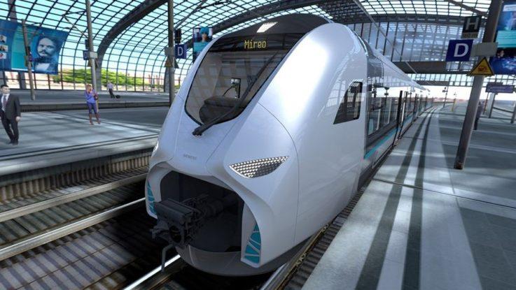 Siemens Mobility, train à hydrogène.